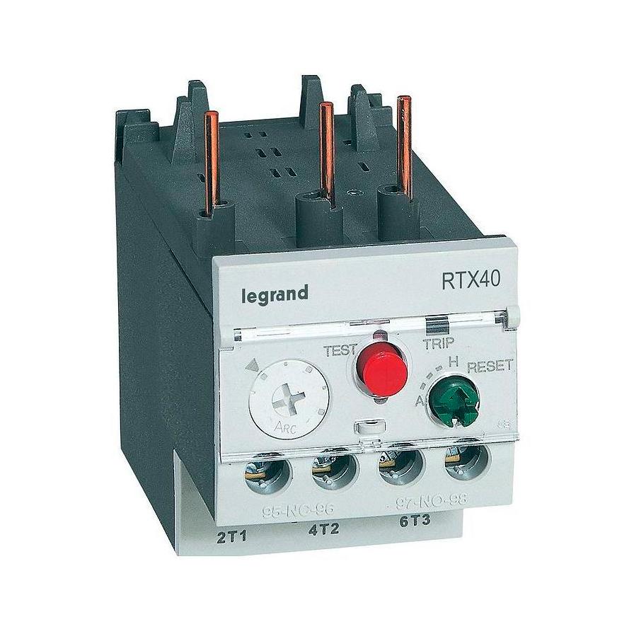 Реле перегрузки тепловое Legrand RTX³ 2,5-4А, класс 10A, 416667