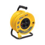 Катушка УК30 с термозащитой 4 места 2P+PE/30м 3х1,5мм2 INDUSTRIAL IEK