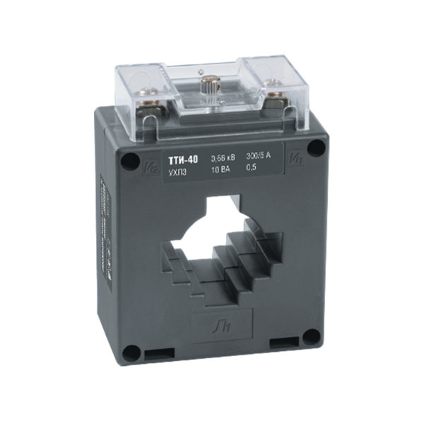 Трансформатор тока ТТИ-40 500/5А 5ВА класс 0,5 IEK