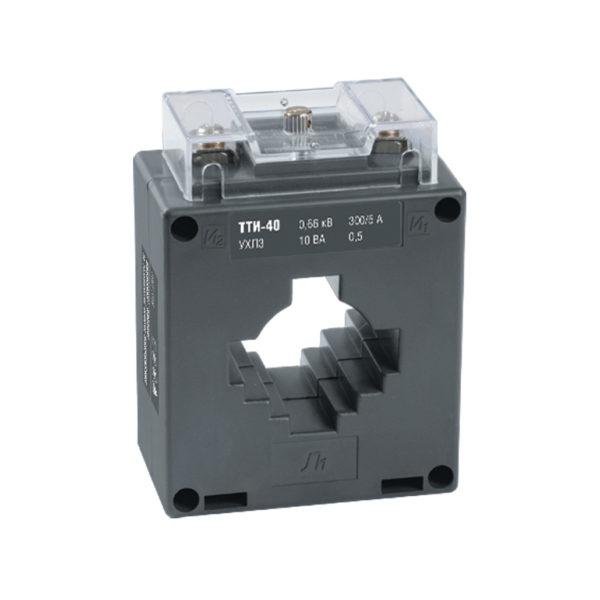 Трансформатор тока ТТИ-40 600/5А 5ВА класс 0,5S IEK