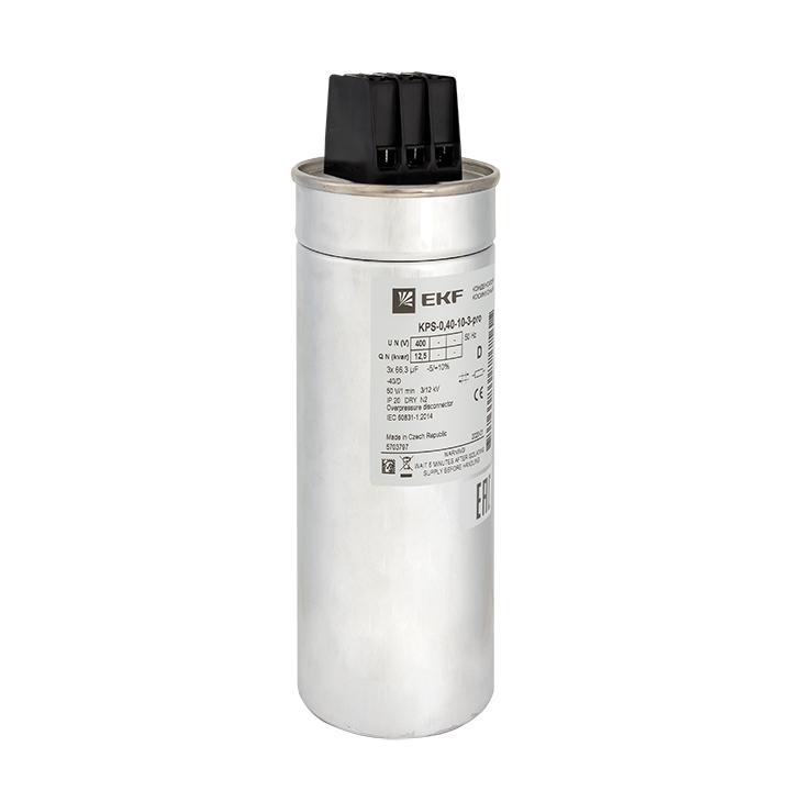 Конденсатор косинусный КПС-0,4-10-3 EKF PRO