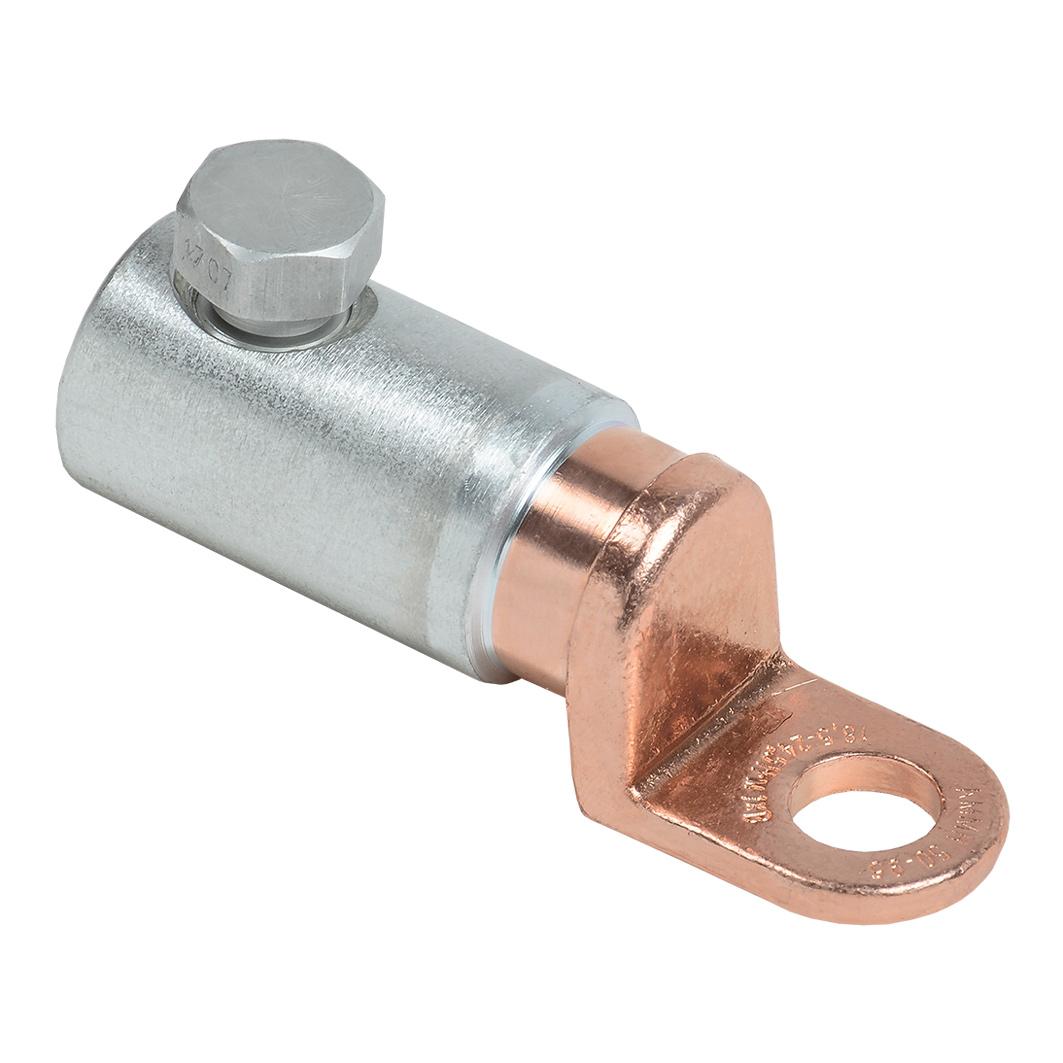 Медно-алюминиевый механический наконечник со срывными болтами АММН 50-95 до 1кВ IEK 1