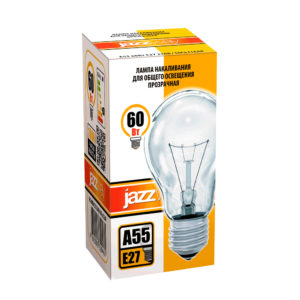 Лампа накаливания A55 A55240V40WE27 clear
