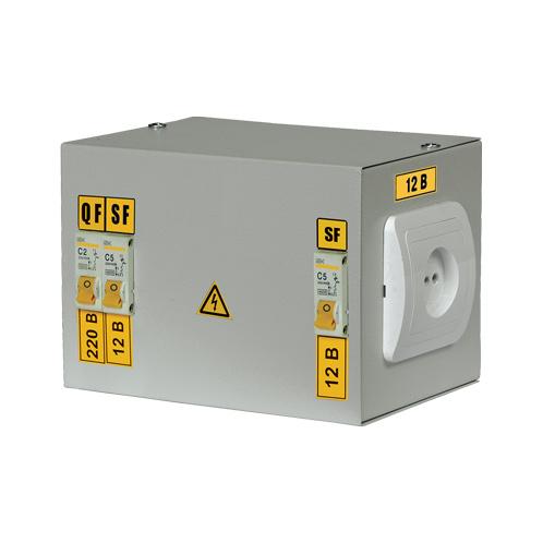 Ящик с понижающим трансформатором ЯТП-0,25 230/42-2 36 УХЛ4 IP30 IEK