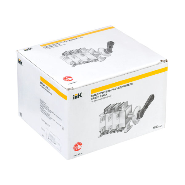 Выключатель-разъединитель ВР32И-37В71250 400А IEK