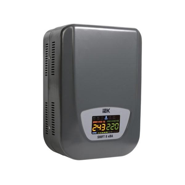 Стабилизатор напряжения настенный SHIFT 8кВА IEK (восстановленный)