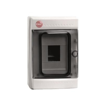 Щиток настен с дверцей 4 мод IP65