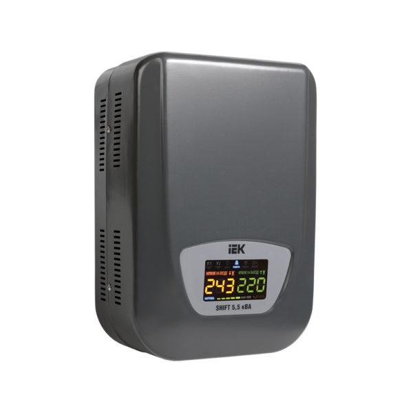 Стабилизатор напряжения настенный SHIFT 5,5кВА IEK (восстановленный)