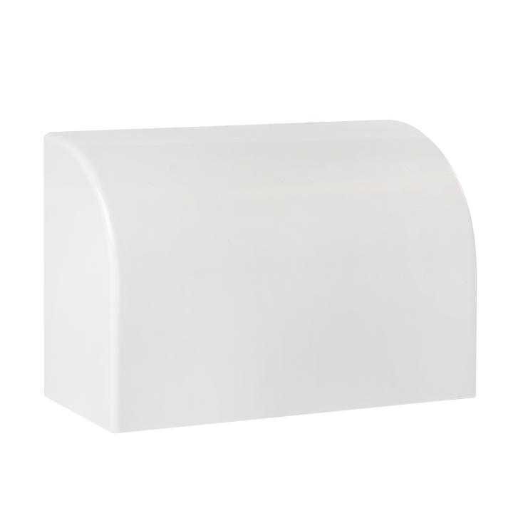 Заглушка (100х40) (2 шт) Plast EKF PROxima Белый