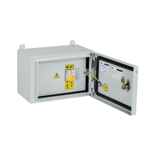 Ящик с понижающим трансформатором ЯТП-0,25 230/42-2 УХЛ2 IP54 IEK