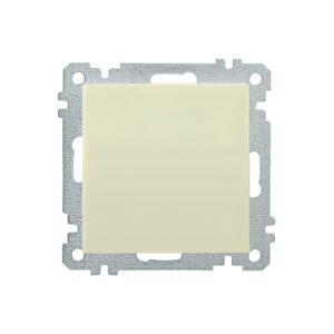 Выключатель 1-клавишный ВС10-1-0-Б 10А BOLERO кремовый IEK