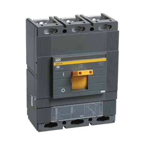 Выключатель автоматический ВА88-40 3Р 800А 35кА с электронным расцепителем MP 211 ИЭК