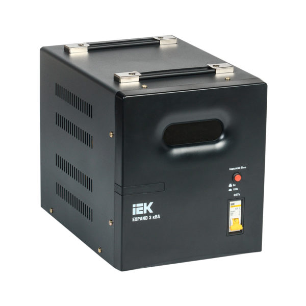 Стабилизатор напряжения переносной EXPAND 3кВА IEK