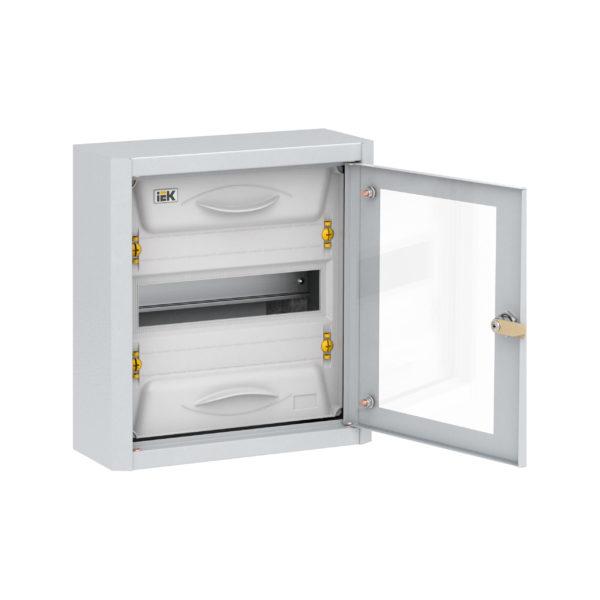 TITAN 5 Корпус металлический ЩРн-12 прозрачная дверь IP31 УХЛ3 IEK