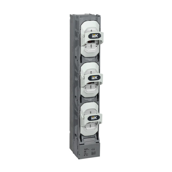 Предохранитель-выключатель-разъединитель ПВР-1 вертикальный 400А 185мм с пофазным отключением IEK