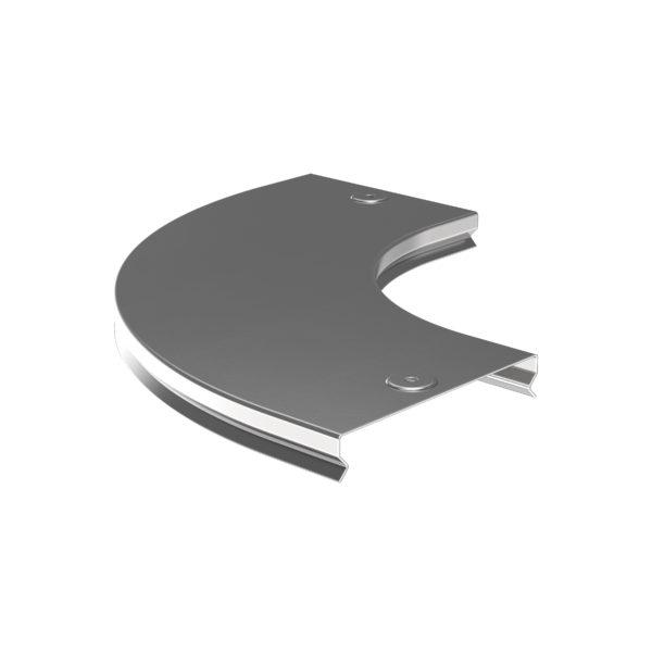 Крышка поворота плавного 90град (тип Г01) ESCA 100мм IEK