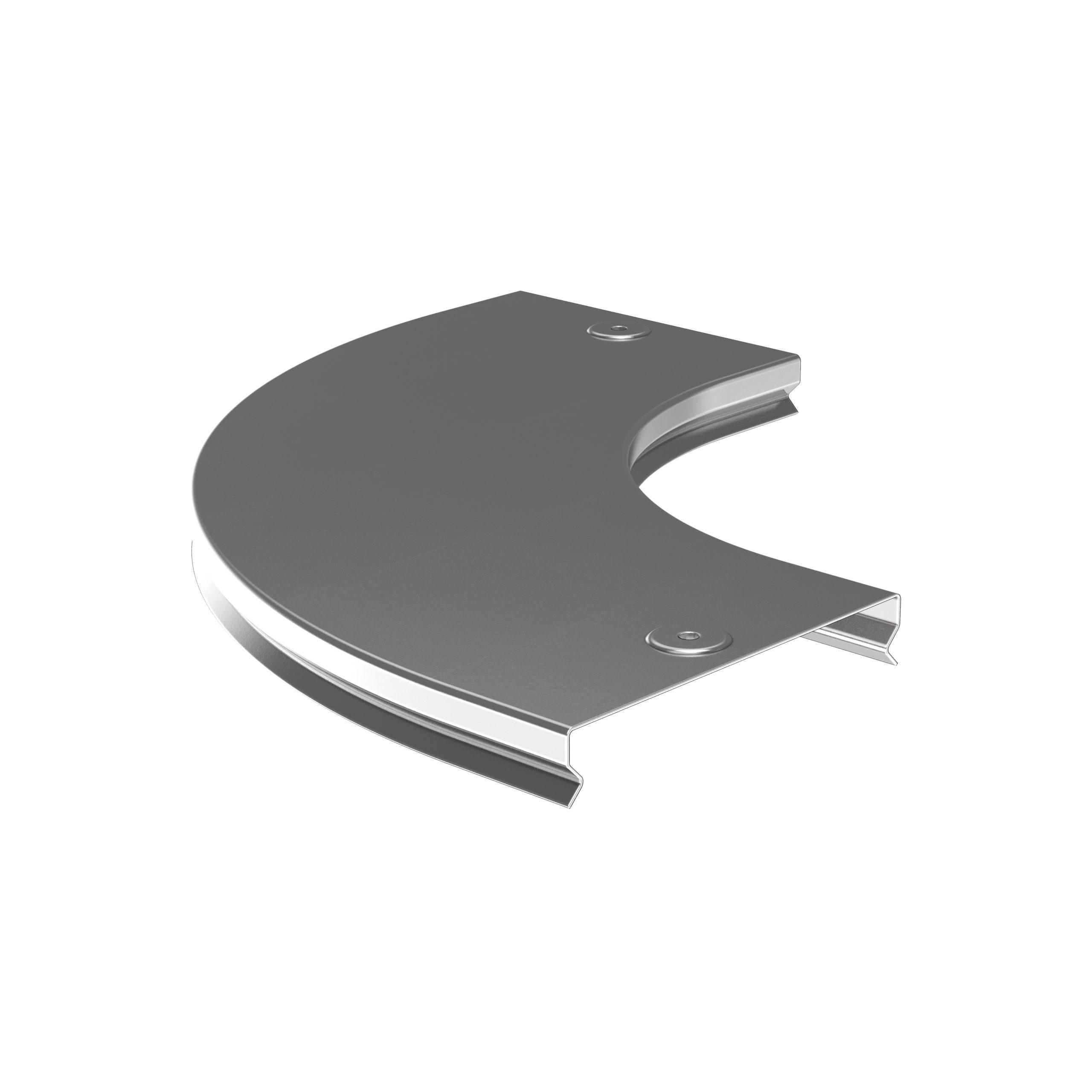 Крышка поворота плавного 90град (тип Г01) ESCA 100мм IEK 1