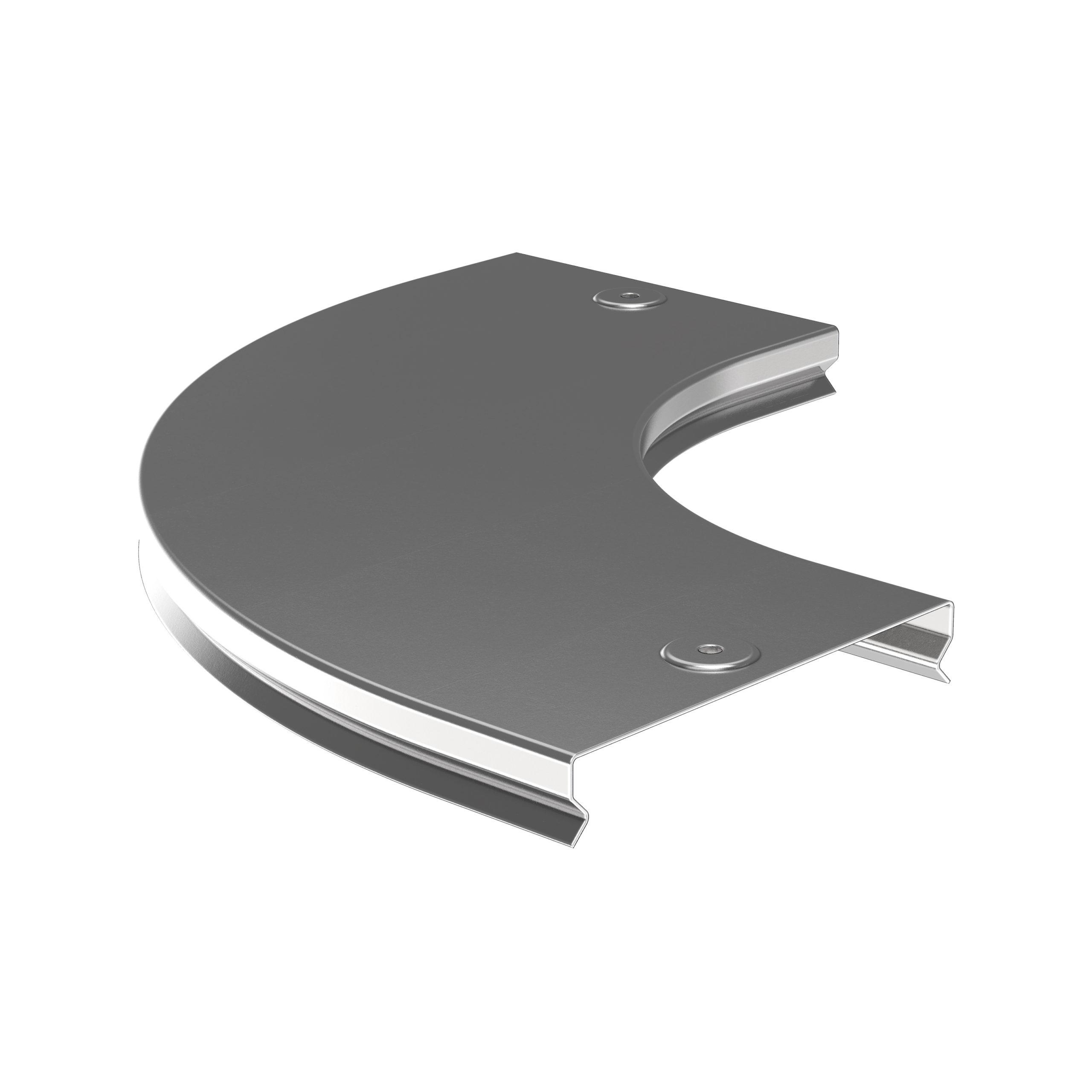 Крышка поворота плавного 90град (тип Г01) ESCA 300мм IEK 1