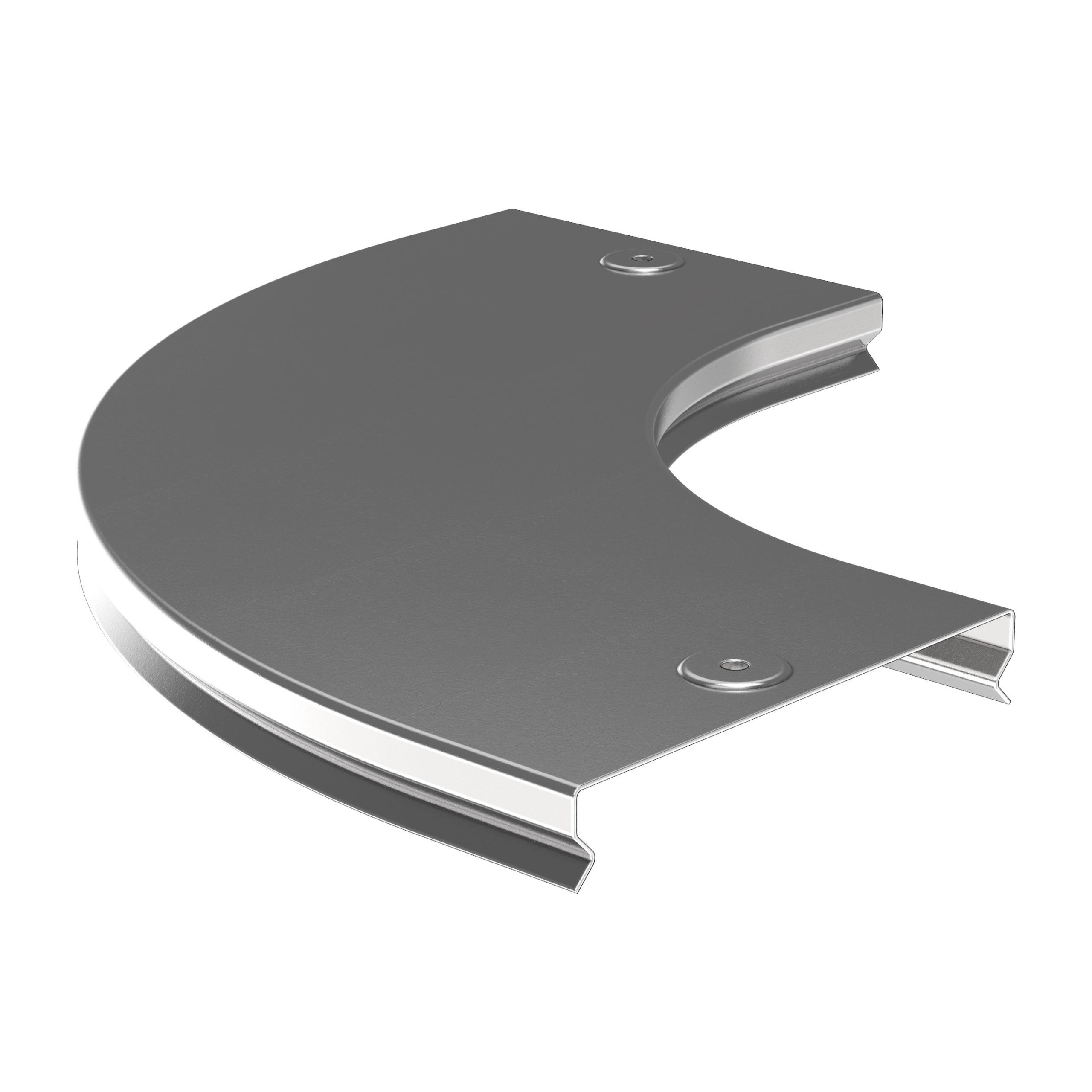 Крышка поворота плавного 90град (тип Г01) ESCA 80мм IEK 1