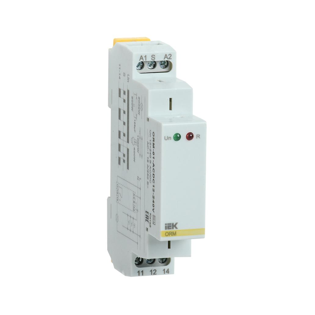 Реле импульсное ORM 1 контакт 12-240В AC/DC IEK