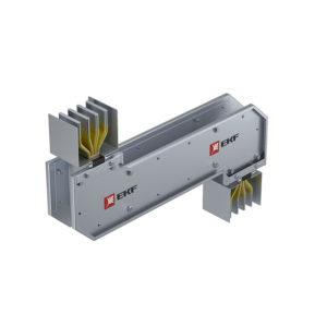 Cекция Z-образная горизонтальная 1000 А IP55 AL 3L+N+PE(ШИНА)