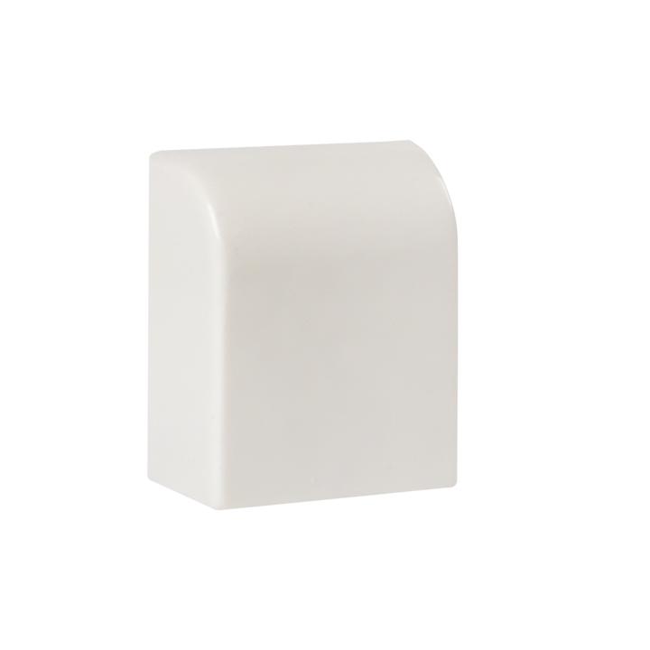 Заглушка (20х10) (4 шт) Plast EKF PROxima Белый