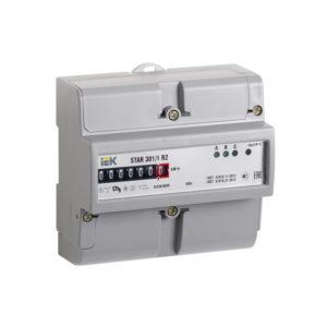 Счетчик электрической энергии трехфазный STAR 301/1 R2-10(100)М IEK