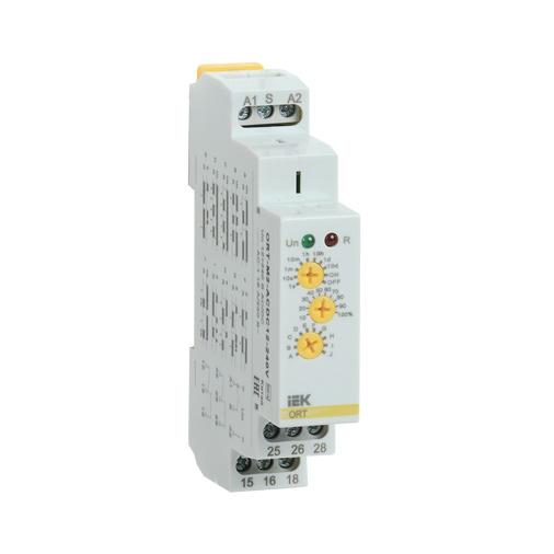 Реле времени ORT многофункциональное 2 контакта 12-240В AC/DC IEK