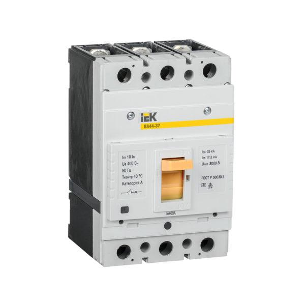 Выключатель автоматический ВА44-37 3Р 400А 35кА IEK