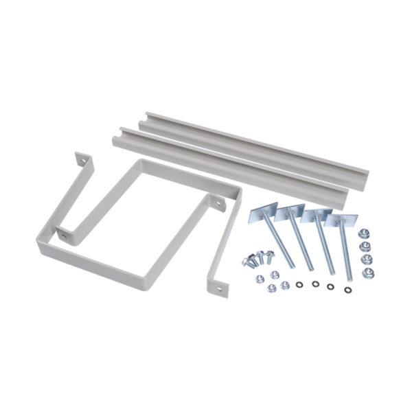 Комплект крепления металлокорпуса к столбу скобой IEK