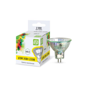 Лампа галогенная JCDR 35Вт 230В GU5.3 560Лм ASD