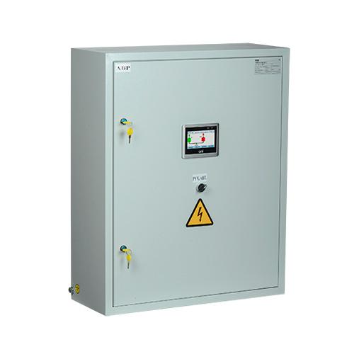 Система АВР двух групп потребителей от двух независимых источников с переключением на ДГУ с секционированием на ВА88 управление электроприводом ЭП32/33 с системой управления 24В DC