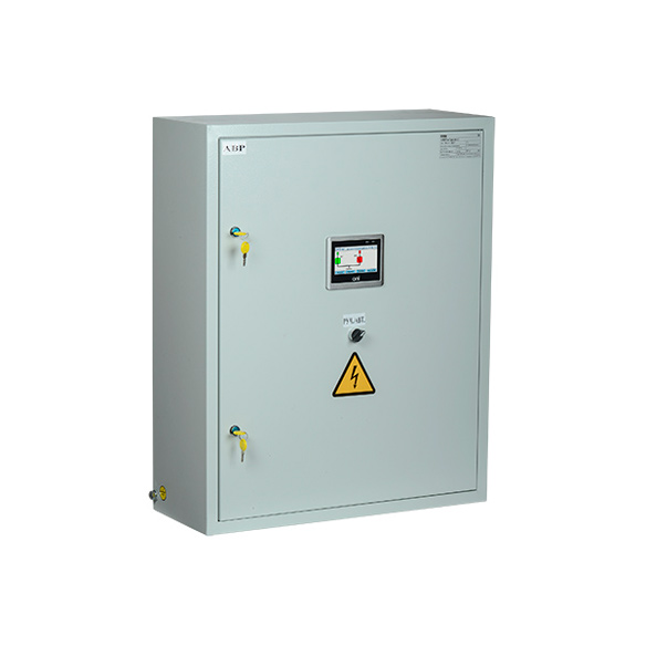 Система АВР двух групп потребителей от двух независимых источников с переключением на ДГУ с секционированием на ВА88 управление электроприводом ЭП35/37 с системой управления 24В DC