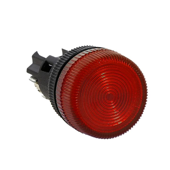 Лампа сигнальная ENS-22 красная 380В EKF PROxima