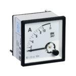 Амперметр аналоговый Э47 10А класс точности 1,5 96х96мм IEK