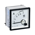 Амперметр аналоговый Э47 10А класс точности 1,5 72х72мм IEK 1