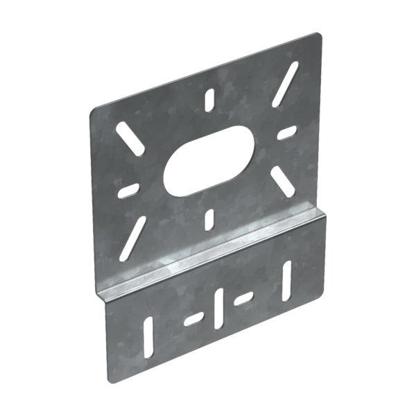 Пластина монтажная вертикальная 157х180мм HDZ IEK