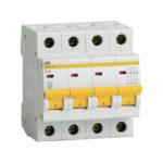 Выключатель автоматический ВА47-29 4Р 40А 4,5кА В IEK 1