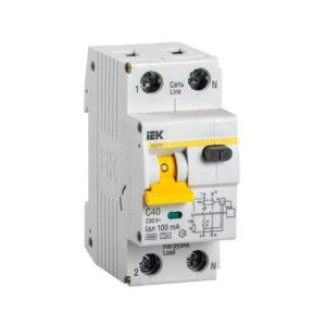Автоматический выключатель дифференциального тока АВДТ32 C40 100мА IEK