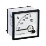Амперметр аналоговый Э47 200/5А класс точности 1,5 96х96мм IEK 1