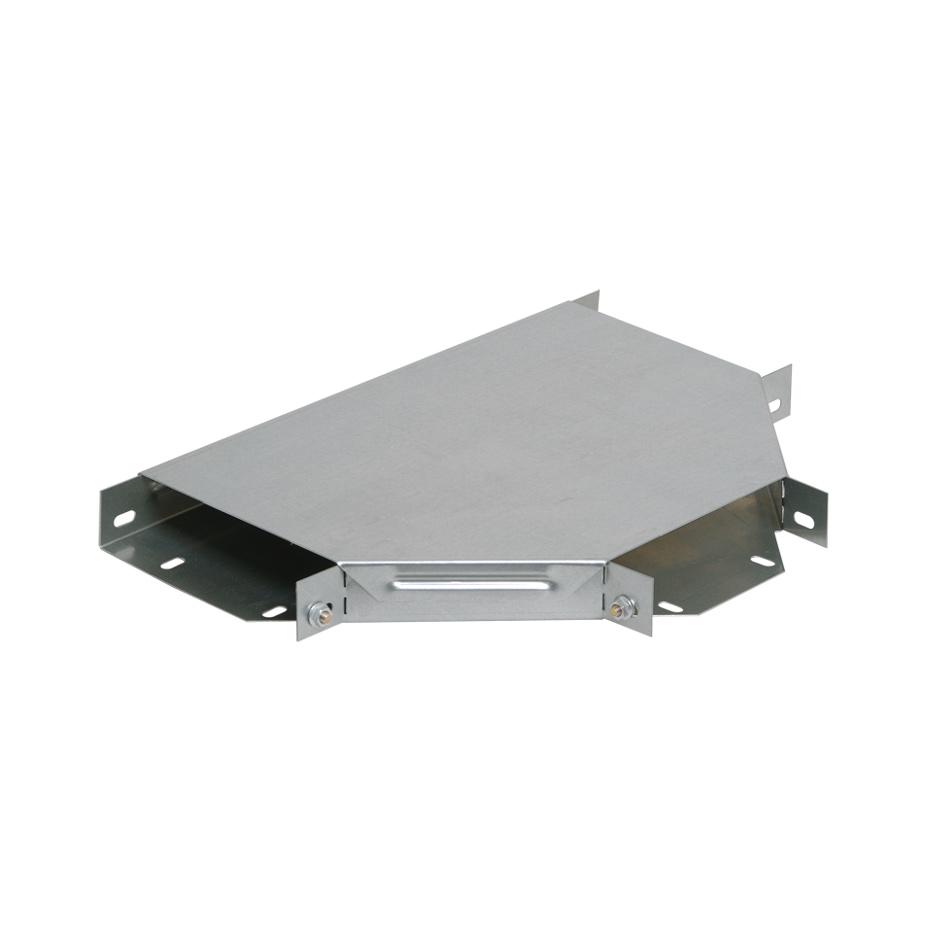 Разветвитель Т-образный ESCA 50х100мм RAL 9016 GL IEK 1