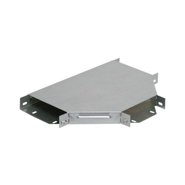 Разветвитель Т-образный ESCA 50х50мм RAL 9016 GL IEK