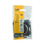 Розетка без заземляющего контакта РС10-1-0-Б 10А BOLERO антрацит IEK 2