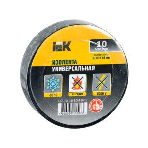 Изолента 0,13х15мм черная 10м IEK