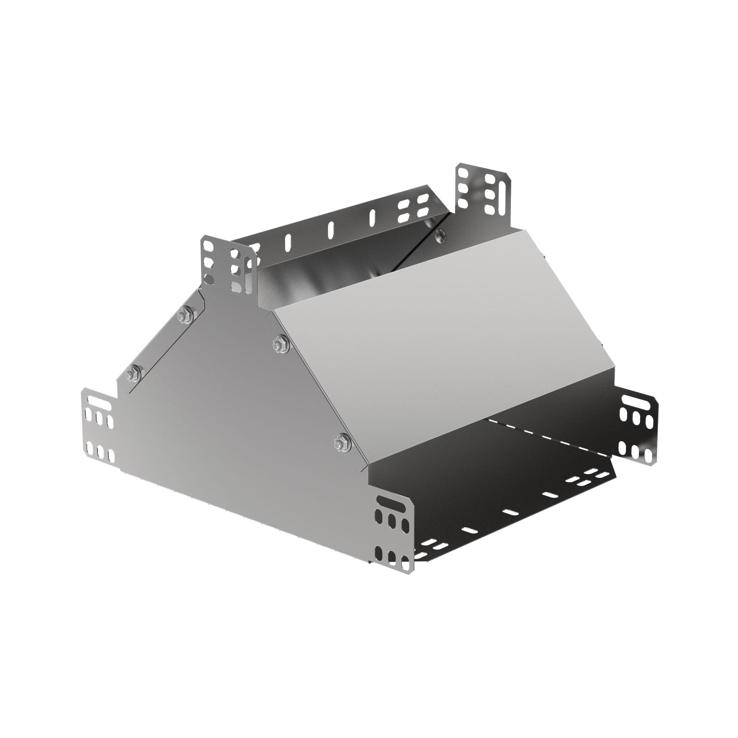Ответвитель Т-образный вертикальный вверх 100х600 HDZ IEK 1
