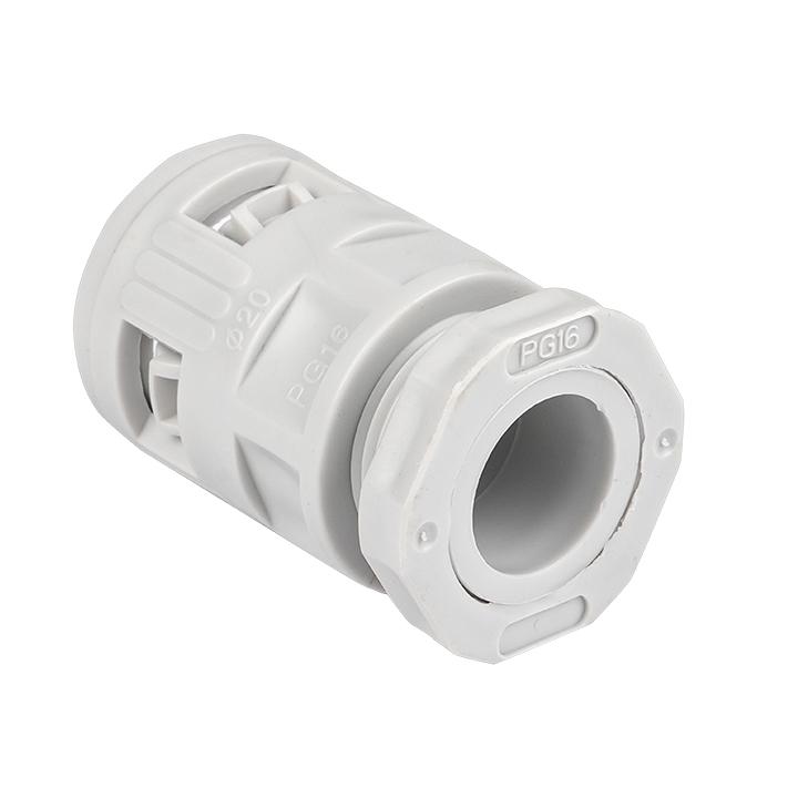 Коннектор для гофрированной трубы (20мм.) (50шт.) Plast EKFPROxima