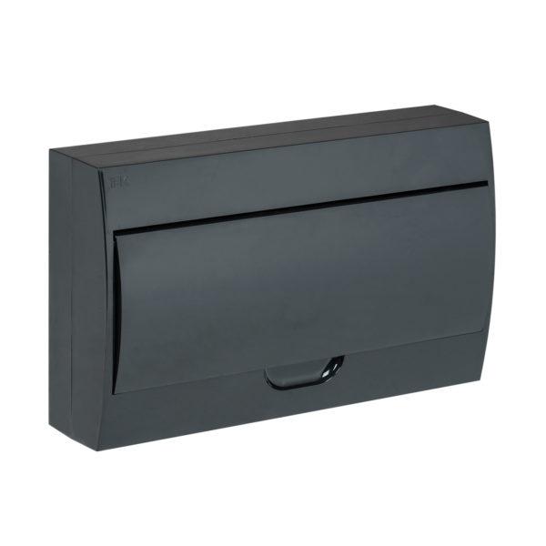 KREPTA 3 Корпус пластиковый ЩРН-П-18 IP41 черная дверь черный IEK