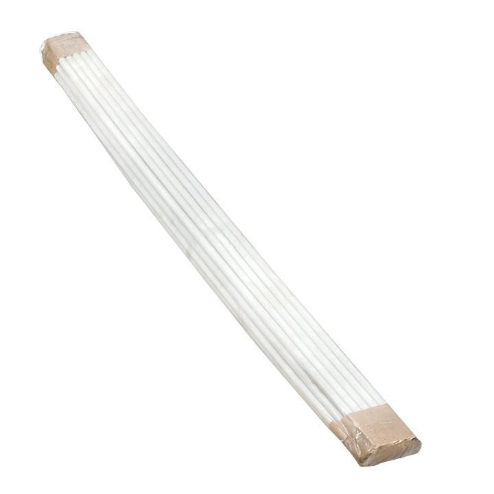 Труба гладкая жесткая ПВХ d25 EKF белая (50м/уп) (2м) EKF PROxima