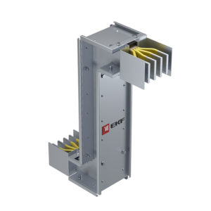 Cекция Z-образная вертикальная 800 А IP55 AL 3L+N+PE(КОРПУС)