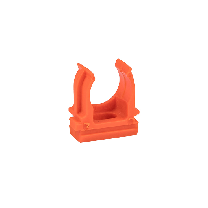 Крепеж-клипса оранжевая d16мм  (10шт.) Plast EKF PROxima